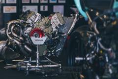 Der Panigale-Motor für Chaz Davies liegt bereit